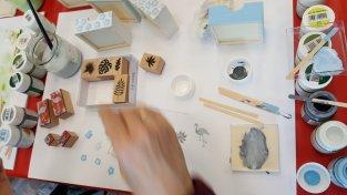Kreative Akzente auf Holz